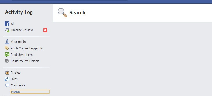 How To Delete Your Facebook Search History