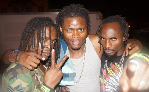 Radio and Weasel with Pallaso