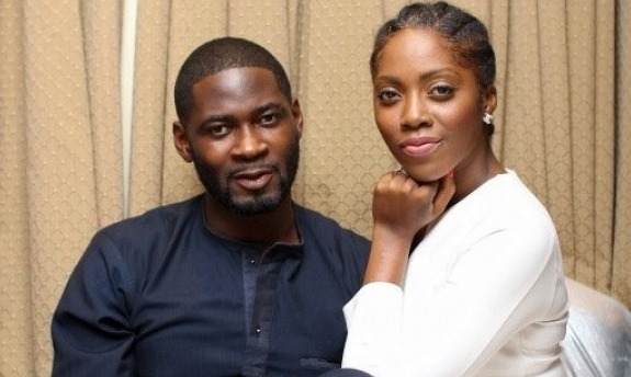 Tiwa Savage and hubby Teebillz