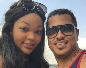 Wema Sepetu and Van Vicker