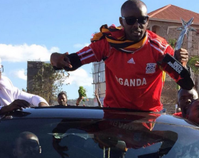 Eddy Kenzo shows off his BET award