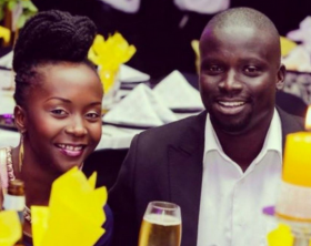 Anne Kansiime and hubby Gerald Ojok
