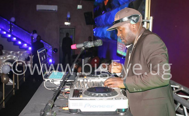 DJ Apeman at Club Play grand opening ceremony