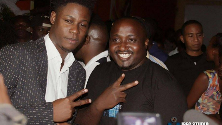 Ceaserous and his manager Suudiman