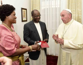 Pope Francis and the Kabaka