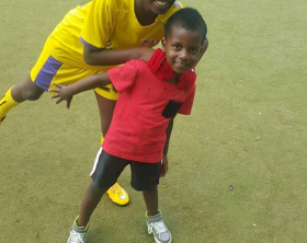 Bebe Cool's son, Caysan joins Proline Football Academy