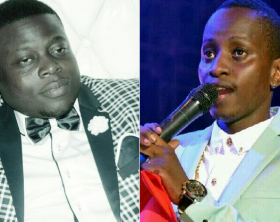 MC Kats and Ivan Ssemwanga