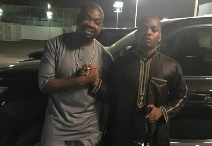 Olamide and Don Jazzy