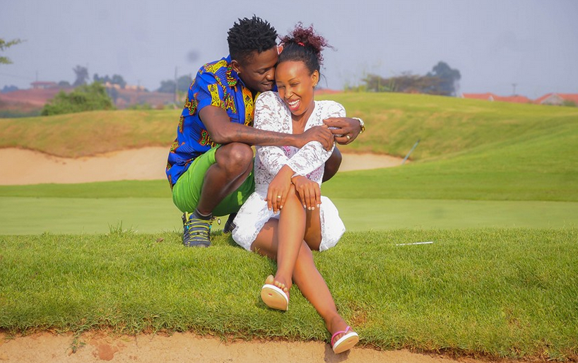 Bobi Wine and wife Barbie enjoy eachother's company on his birthday