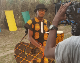 "Eddy Kenzo shoots ""Mbilo Mbilo"" remix video with Nigeria's Niniola"