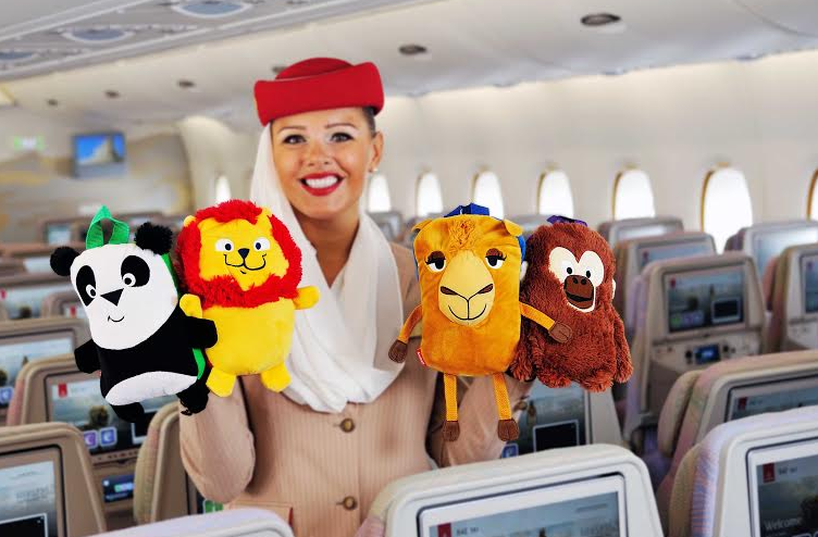 Toys For Young : Emirates launches new toys for young travelers