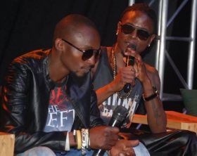 Radio and Weasel at Jazz Comedy show