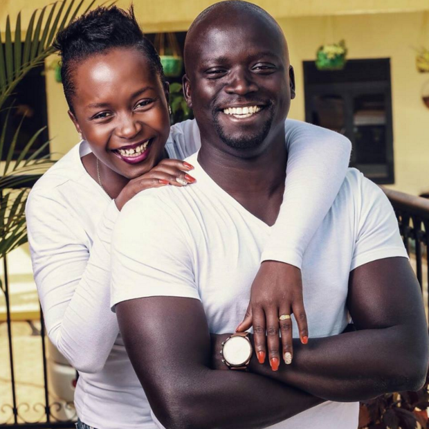 Anne Kansiime and hubby Ojok