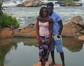 Bobi Wine and Barbie on holiday in Jinja