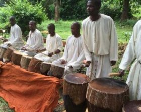 Entenga drums music performers