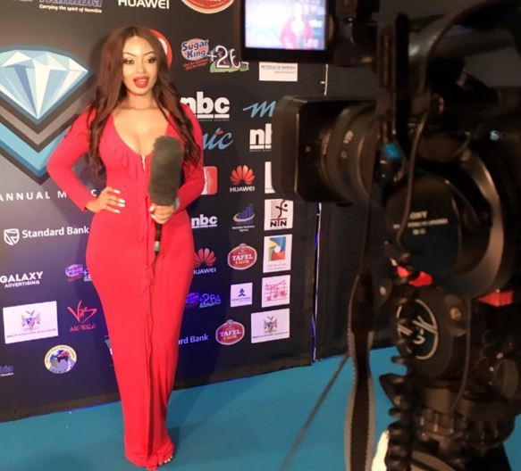 Anita Fabiola hosts Namibia Annual Music Awards