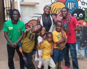 Bobi Wine's kids in new movie