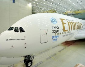 Emirates Air Bus
