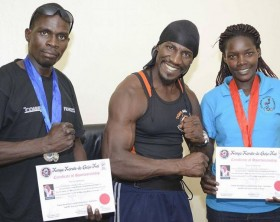 "Golola Moses' students triumph in the ""Kenya Karate-do Goju-kai"" competition"