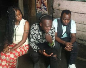 David Lutalo and Grace Nakimera shoot Twala Ebyange video.