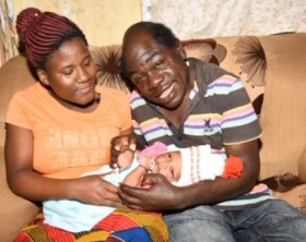 Comedian Kapere welcomes baby boy