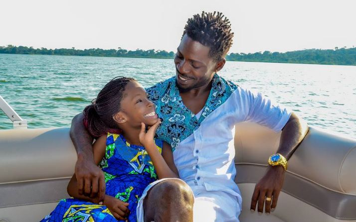 Bobi Wine bonds with daughter
