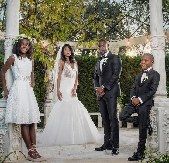 Photos Comedian Kevin Hart Weds Longtime Girlfriend In California