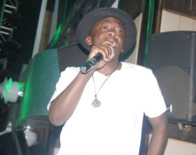 Geosteady performs at Brian Waako's YouTube Channel launch at Club Ambiance