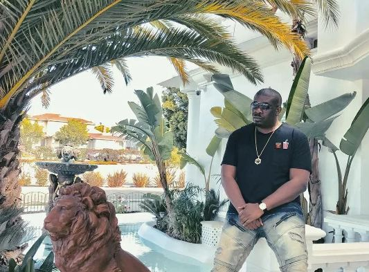 Don Jazzy shows off mansion in USA