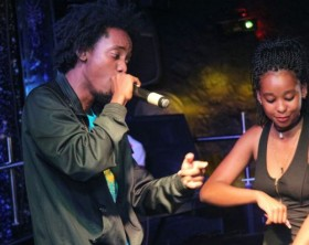 1Rail performing at Industry Nite in Nairobi last week.