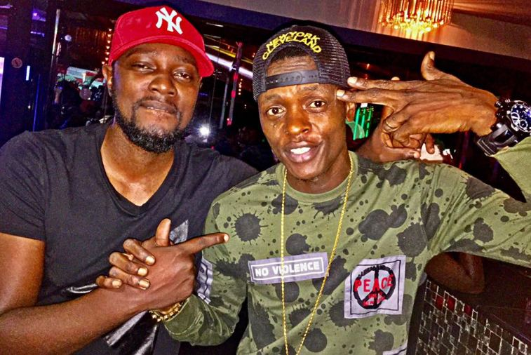 Gareth Onyango and Jose Chameleone