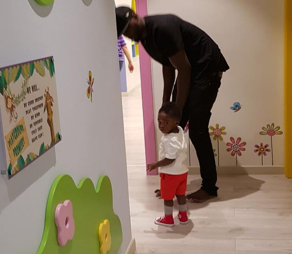 Tiwa Savage's son, Jamal starts school.