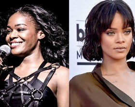 Rihanna and Azealia Banks