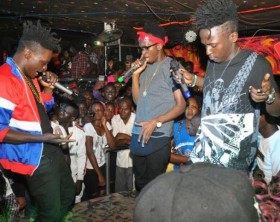 B2C entertain fans at Viewers Night Club