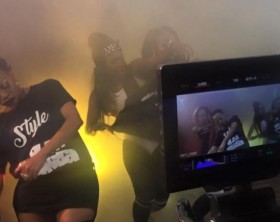 Bum Sakata video shoot