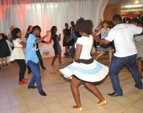 Guests enjoy themselves at the launch of the Cuban Festival that took place at the iconic Kyoga Poolside of Sheraton Kampala Hotel.