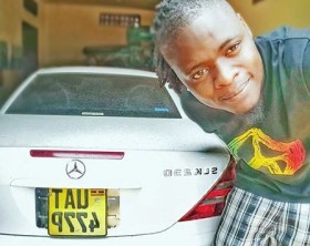 Pallaso gifted with a Mercedes Benz by Weasel