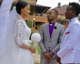 Willy Paul and Alaine wedding