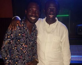 Bobi Wine and Kiiza Besigye