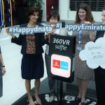 Employees also participated in a 360 degree 'photo'
