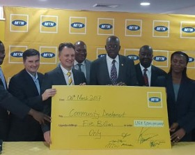 MTN Uganda Foundation has committed to invest up to UGX. 5Billion in community development initiatives across Uganda in 2017