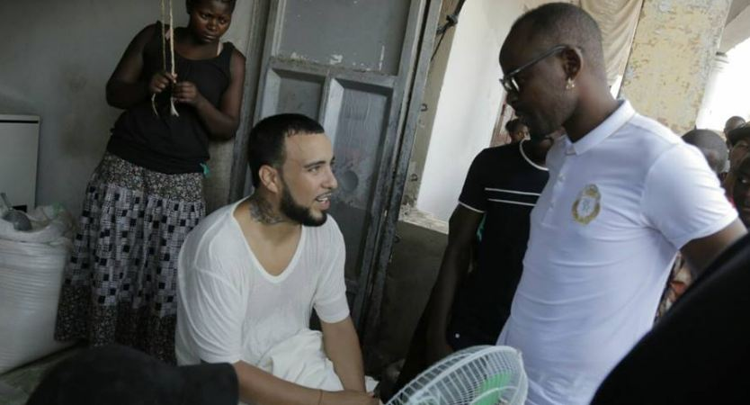 Eddy Kenzo and French Montana