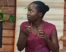 """Anne Kansiime in """"The Girl From Mparo"""" TV show"""
