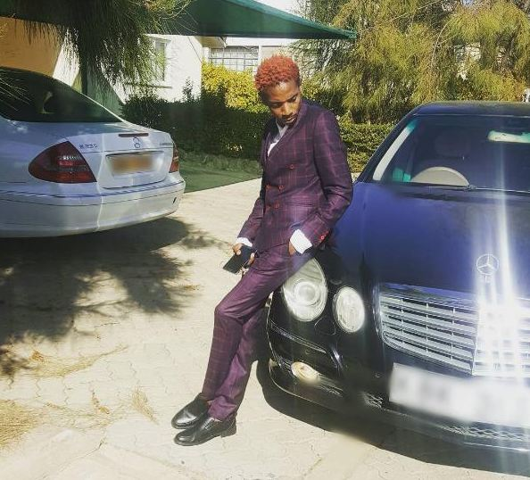 Eric Omondi shows off his cars