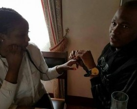 StarBoss Big Eye proposes to girlfriend