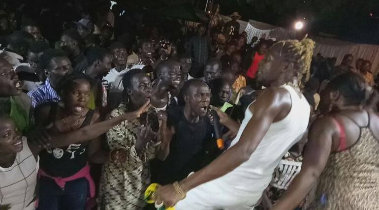 Photos: Coco Finger thrills fans in Southern Sudan