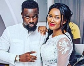 Sarkodie and girlfriend Tracy Ewuraama