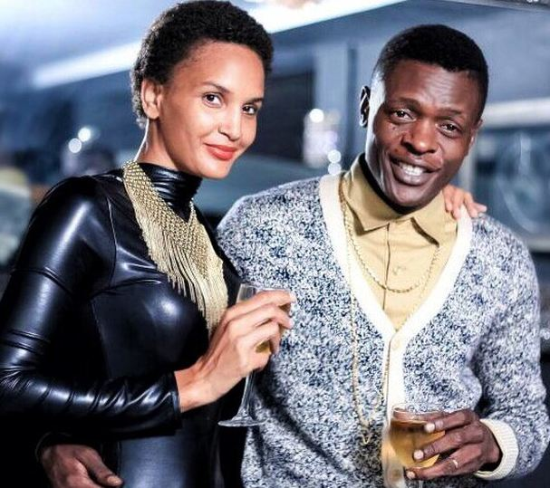 Chameleone: Chameleone Displays Affection For Wife At Birthday Party