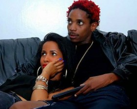 Eric Omondi and fiancee Chantal Grazioli