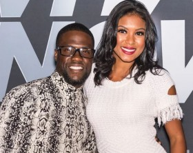 Kevin Hart and his wife, Eniko Parrish